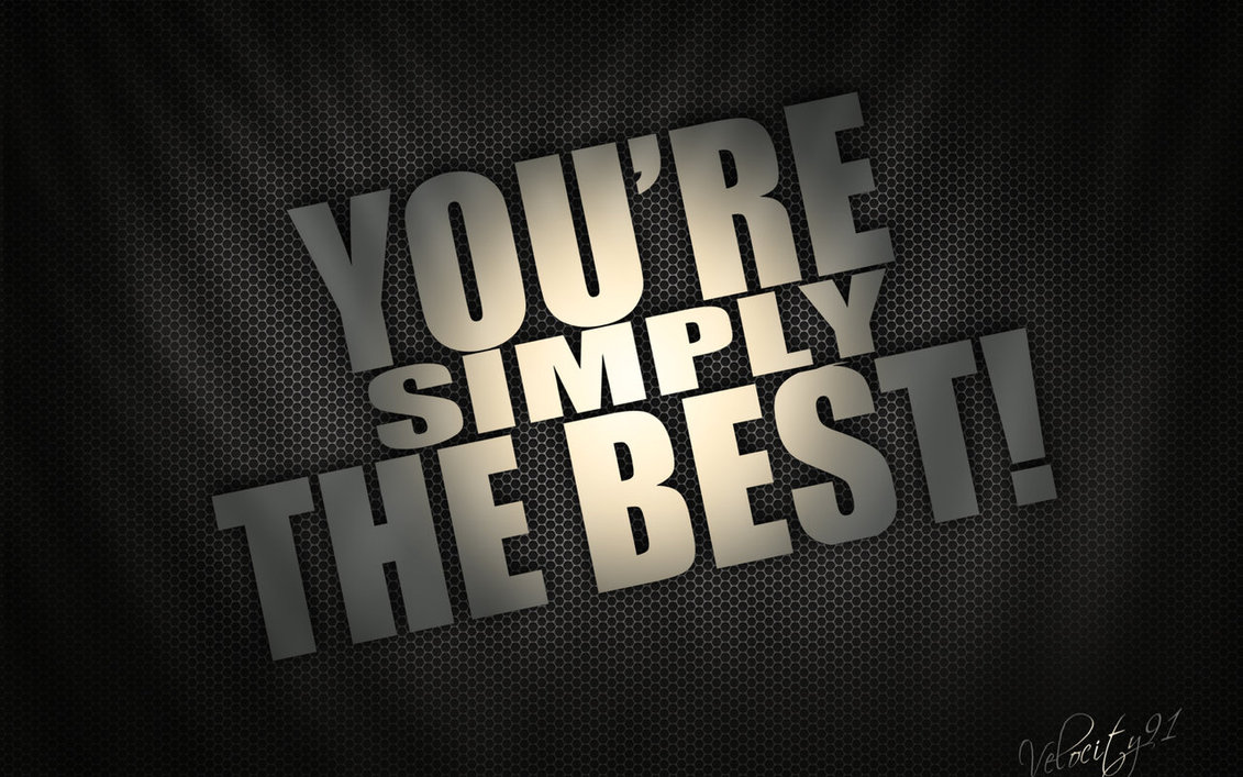Simple the best